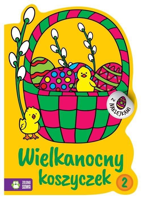 Wielkanocne kolorowanki. Wielkanocny - okładka książki