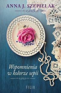 Wspomnienia w kolorze sepii - okładka książki