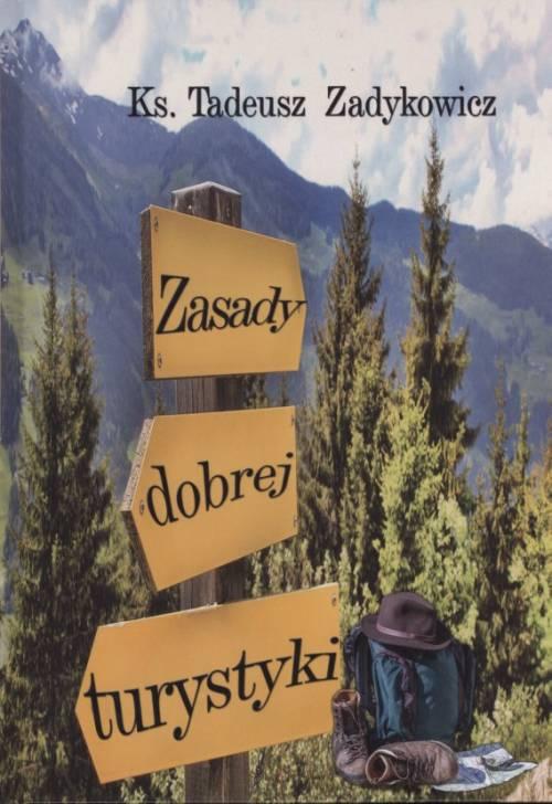 Zasady dobrej turystyki - okładka książki