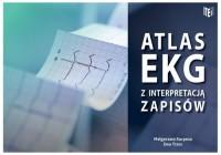 Atlas EKG z interpretacją zapisów - okładka książki