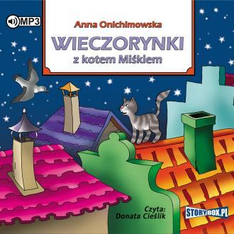 Wieczorynki z kotem Miśkiem (CD - pudełko audiobooku