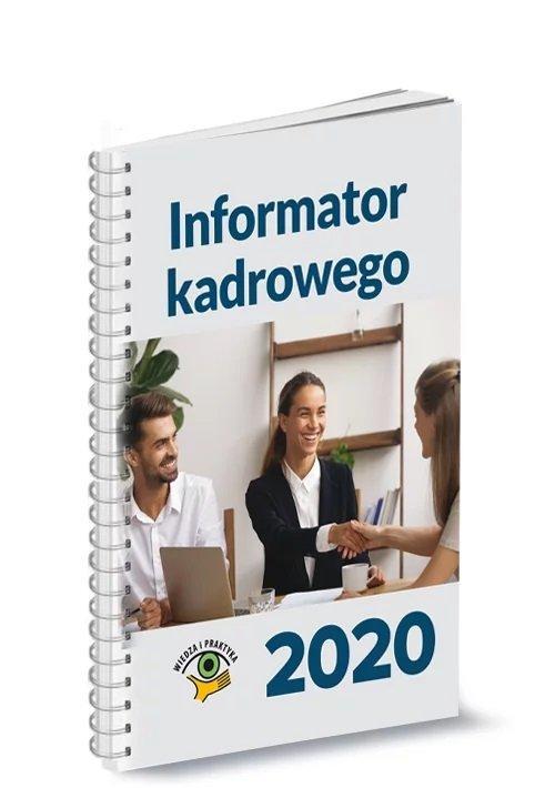 Informator kadrowego 2020 - okładka książki