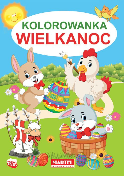 Kolorowanka. Wielkanoc - okładka książki