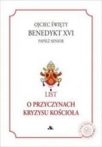 List o przyczynach kryzysu Kościoła - okładka książki