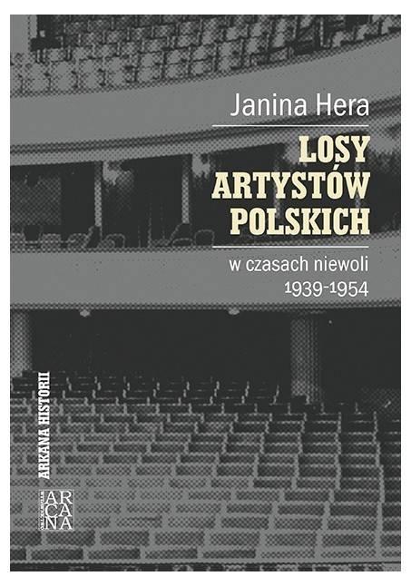 Losy artystów polskich w czasach - okładka książki