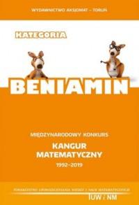 Matematyka z wesołym Kangurem. - okładka podręcznika