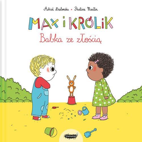 Max i królik. Babka ze złością - okładka książki