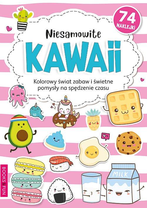 Niesamowite Kawaii Kolorowanka - okładka książki