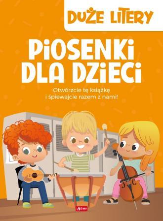 Piosenki dla dzieci - okładka książki