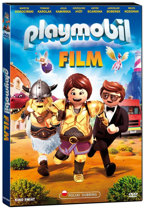 Playmobil Film (DVD) - okładka filmu