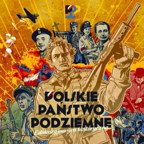 Polskie Państwo Podziemne. Edukacyjna - zdjęcie zabawki, gry
