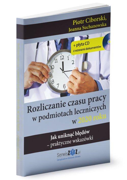 Rozliczanie czasu pracy w podmiotach - okładka książki