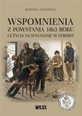 Wspomnienia z Powstania 1863 roku - okładka książki