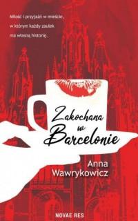 Zakochana w Barcelonie - okładka książki