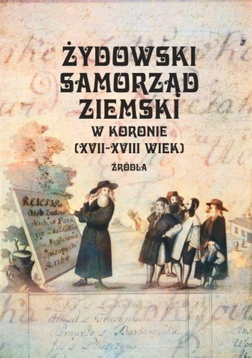 Żydowski samorząd ziemski w Koronie - okładka książki