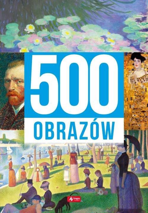 500 obrazów - okładka książki