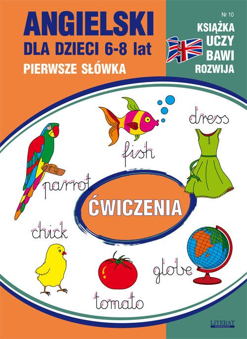 Angielski dla dzieci 6-8 lat. Pierwsze - okładka podręcznika