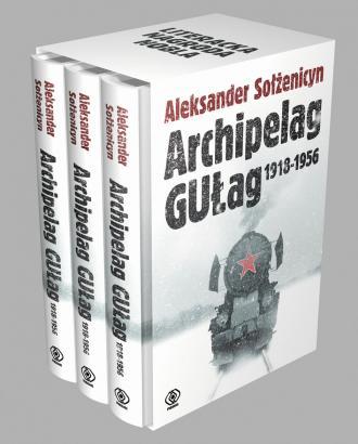 Archipelag Gułag. Tom 1-3. KOMPLET - okładka książki