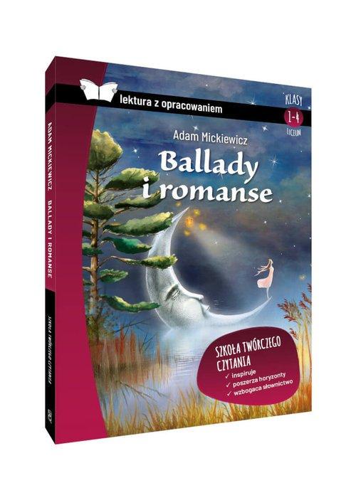 Ballady i romanse. Lektura z opracowaniem - okładka podręcznika