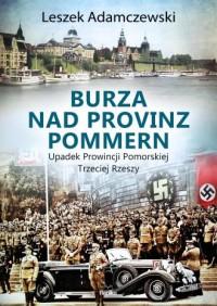Burza nad Provinz Pommern. Upadek - okładka książki