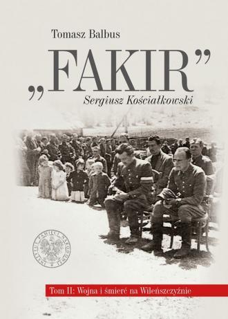 Fakir Sergiusz Kościałkowski. Wojna - okładka książki