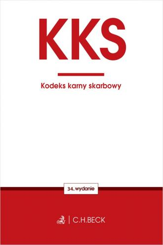 Kodeks karny skarbowy - okładka książki