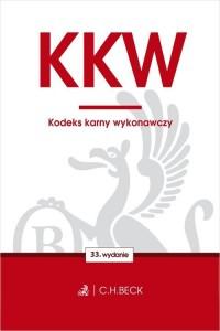 Kodeks karny wykonawczy - okładka książki