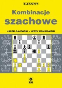 Kombinacje szachowe - okładka książki
