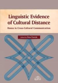 Linguistic Evidence of Cultural - okładka książki