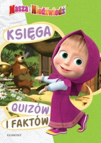 Masza i Niedźwiedź. Księga quizów - okładka książki
