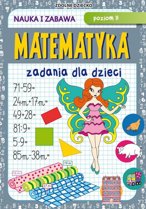 Matematyka Zadania dla dzieci. - okładka podręcznika