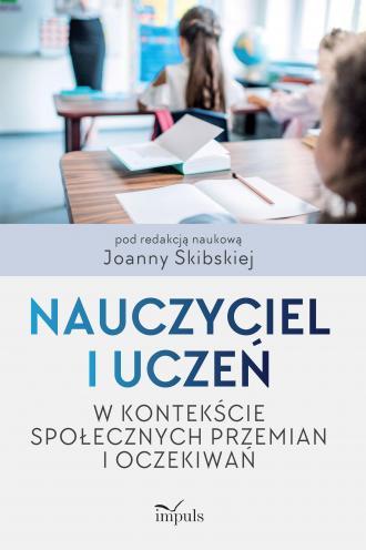 Nauczyciel i uczeń w kontekście - okładka książki