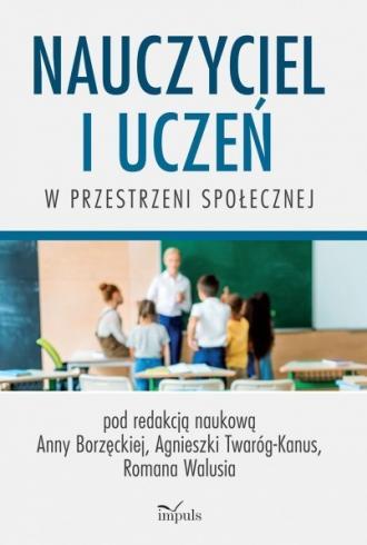 Nauczyciel i uczeń w przestrzeni - okładka książki