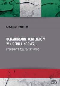 Ograniczanie konfliktów w Nigerii - okładka książki