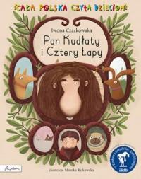 Pan Kudłaty i cztery łapy - okładka książki