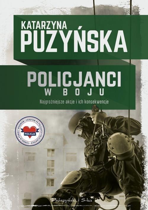 Policjanci w boju - okładka książki