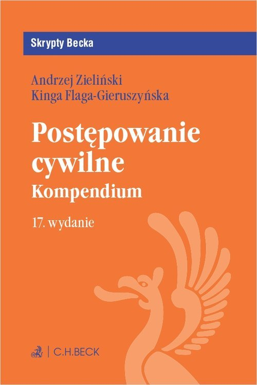 Postępowanie cywilne. Kompendium. - okładka książki