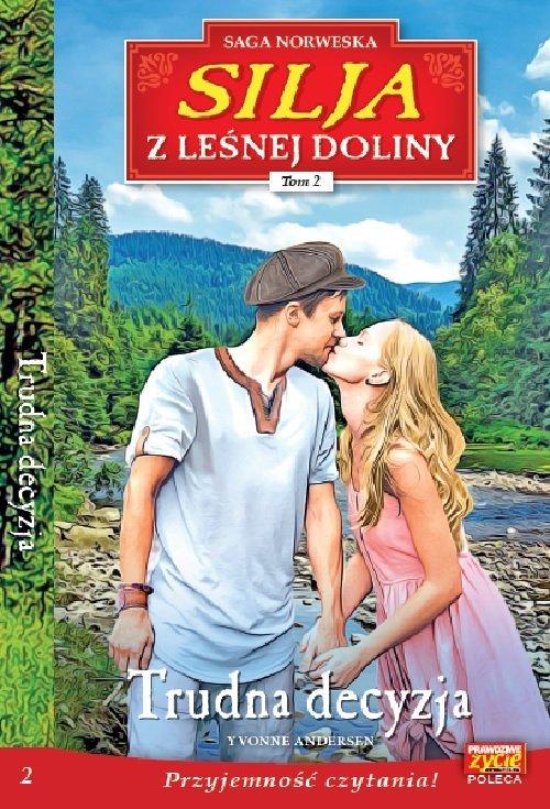 Silja z Leśnej Doliny Tom 2. Trudna - okładka książki