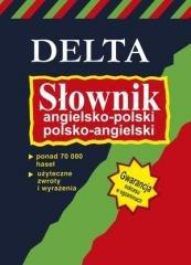 Słownik angielsko-polski, polsko-angielski - okładka podręcznika