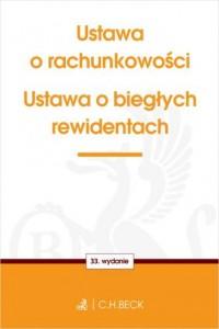 Ustawa o rachunkowości oraz ustawa - okładka książki