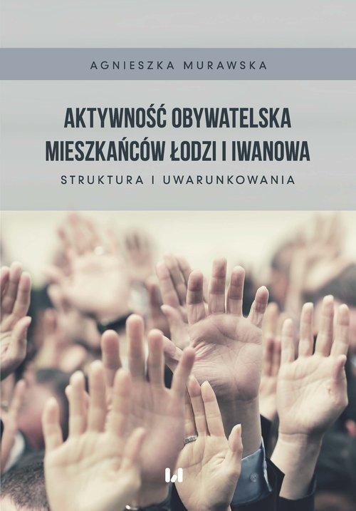 Aktywność obywatelska mieszkańców - okładka książki