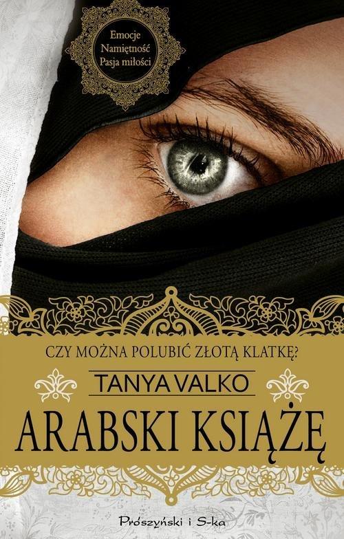 Arabski książe - okładka książki