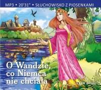 O Wandzie, co Niemca nie chciała. - pudełko audiobooku