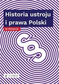 Historia ustroju i prawa Polski - okładka książki