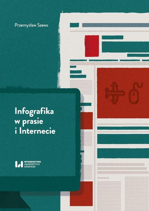 Infografika w prasie i Internecie - okładka książki