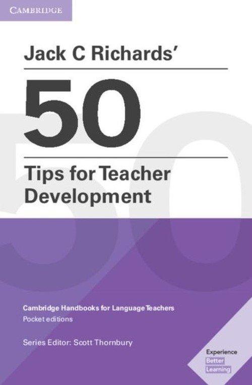 Jack C Richards? 50 Tips for Teacher - okładka książki