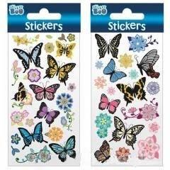 Naklejki Sticker BOO motyle i kwiaty - zdjęcie produktu