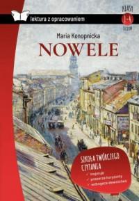 Nowele. Konopnicka (z opracowaniem) - okładka podręcznika
