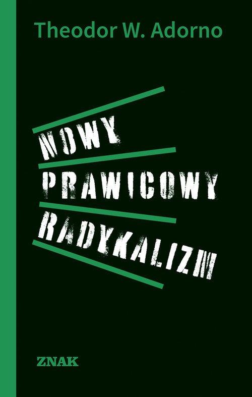 Nowy prawicowy radykalizm - okładka książki