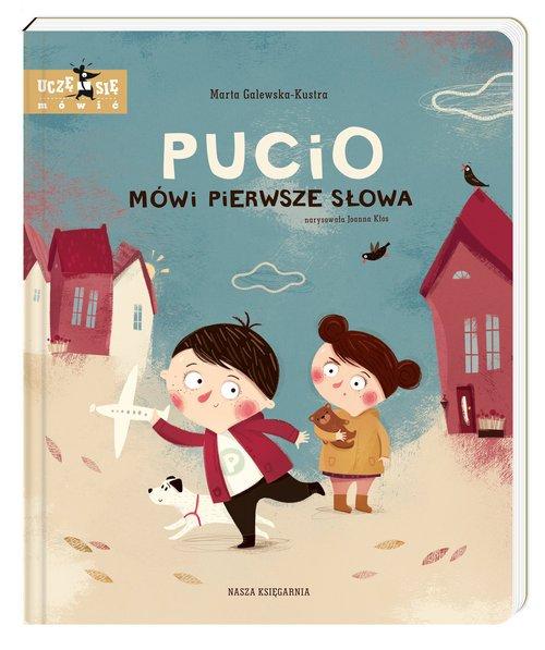 Pucio mówi pierwsze słowa - okładka książki